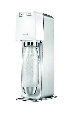 Power white (Electric) +Gas+3 yr warranty official SodaStream Store RRP £169.99