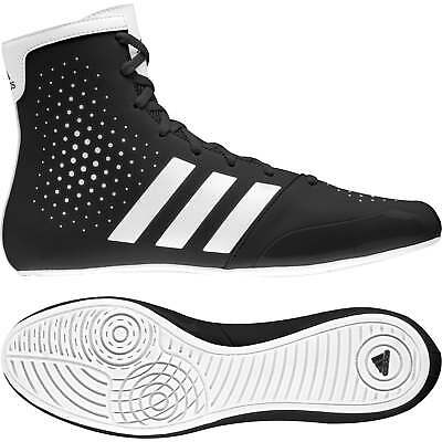 Adidas KO Legend 16.2 Boxing Boots - Black White Mens Shoes