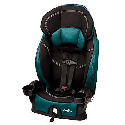 Car Seat Baby Safety Seat 80 lbs Evenflo Chase LX Harnessed Booster Jubilee
