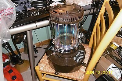 ANTIQUE KEROSENE OIL HEATER STOVE Moonlighter