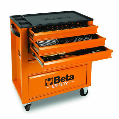 Beta Cassettiera Easy assortimento 182 utensili carrello officina C24E/V