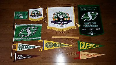 FUND RAISING for Family: 68 Various CFL Pennants as pictured