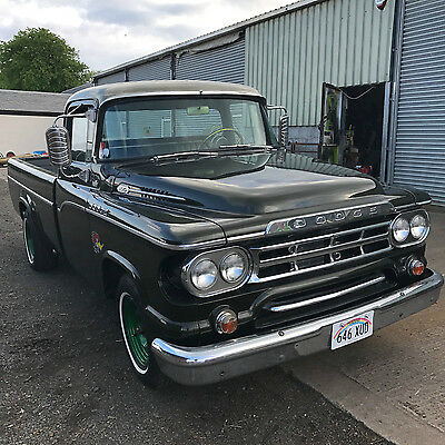 1959 Dodge D100 318 Polly V8/LPG Pick Up Truck HOT ROD not ford,chevy