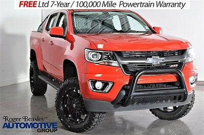 "2016 Chevrolet Colorado Z71 4X4 NEW 6"" LIFT 20"" FUEL WHEELS 33"" MUD TIRES 2016 CHEVROLET COLORADO Z71 LIFTED FUEL HEATED SEATS 18K MI."