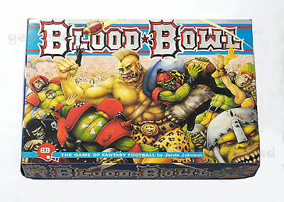 CITADEL Warhammer BLOOD BOWL 2nd Edition BOARD GAME - SEMI COMPLETE