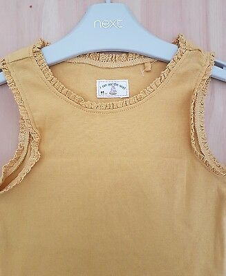 ♡ NEXT ☆NEW☆ GIRL  Lovely  Vest Top T-shirt ☆2-3 YEARS☆ SUMMER ☆ HOLIDAY