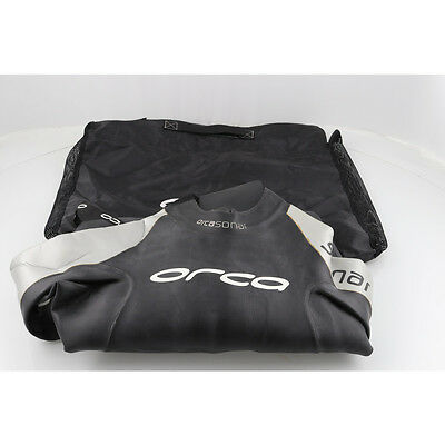 Orca Mens Open Water Swimming, Triathlon Wetsuit Size 5 Ex Demo Sonar