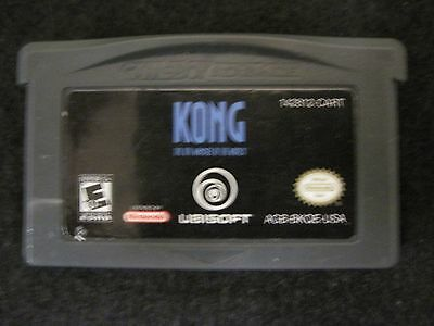 Kong: The 8th Wonder of the World (Nintendo Game Boy Advance, 2005) game only