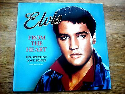 Elvis Presley - From The Heart - Love Songs - German Rca Label - Mint Condition