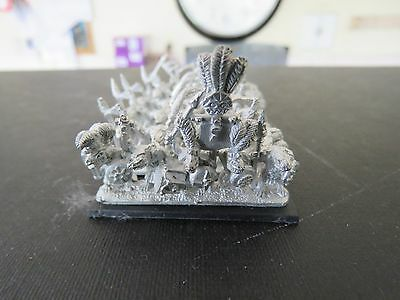 Games Workshop Warmaster Lizardmen Saurus Warriors 30 figures incl. command A