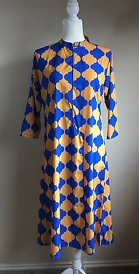 Women's Long Tunic Dress Kurti NWT Sz L Kameez