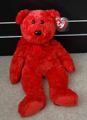 TY Beanie Buddy - Sizzle - Bear - Retired - Good Condition