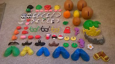 ~~Huge~~ MR POTATO HEAD inc. Rare Spud Buds Set (bundle/joblot) **FREE UK P&P**