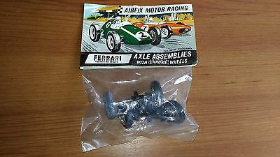 Ferrari 156 Axle Assemblies Front and Rear Wheels Airfix #5082/F New Old Stock