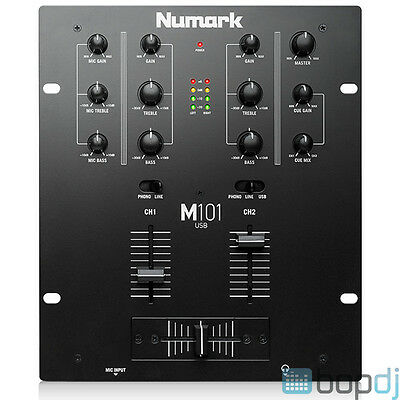 Numark M101USB - 2-Channel All-Purpose Mixer - M101 USB