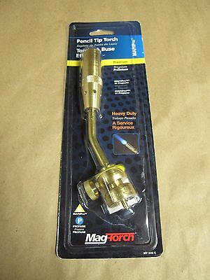 Mag-Torch MT245C MAPP/Propane Heavy Duty Pencil Flame Burner Torch Tip **NEW**