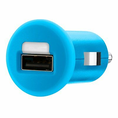 Belkin 1A USB Micro Car Charger - Blue