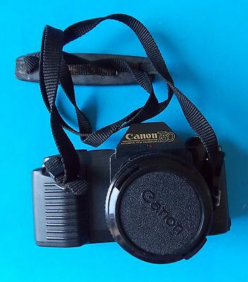 Canon T50 Camera With Straps Canon Lens Fd 50Mm 1:1.8