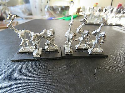 Games Workshop Warmaster Lizardmen Kroxigors 9 figures/3 bases B