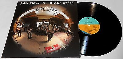 Neil Young + Crazy Horse Ragged Glory Lp 1990 (Press Germany)
