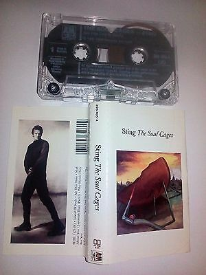 Sting - The Soul Cages - Cassette  - Vgc - Free Post
