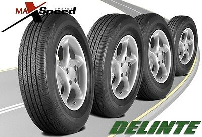 (Qty of 4) Delinte DH7 235/65R17 108H Durable Performance Tires