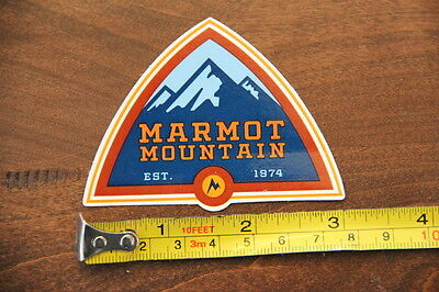 MARMOT Tents STICKER Decal Mountain Climbing NEW
