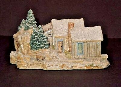 Lilliput Lane Gold Miner's Claim - American Landmarks Collection - Box And Deed
