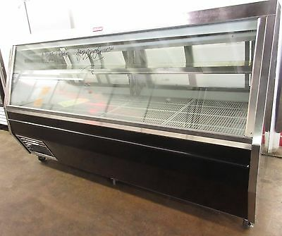 """Howard-McCray 95"""" Red Meat Double Duty Refrigerated Display Case SC-CMS35-8"""