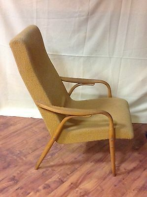 Retro Legendary Easy Armchair Model TON - 947 Czechoslovakia 1960s