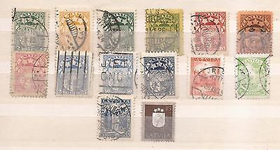 Latvia - Oldies  -  Lot Of  Stamps