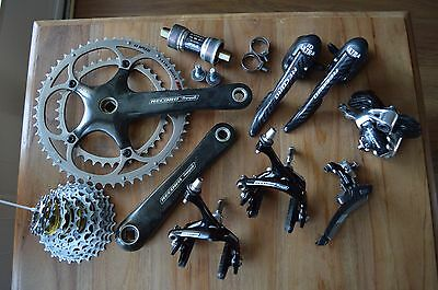 Campagnolo Record groupset 10 speed carbon