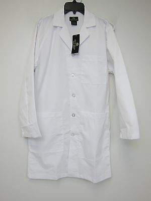 """Natural Uniforms 40"""" Lab Coat - Adult XS - White - NWT"""