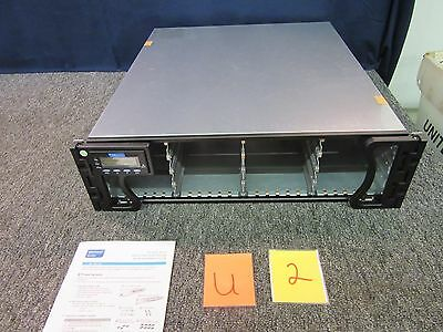 Infortrend Eonstar Sas Fiber 16 Drive Ess16R2B1 Rack Server 530W Redundant Psu