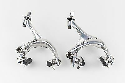 TOP RARE VINTAGE Campagnolo Record Dual Pivot Bremsen Set | Brake Calipers Road