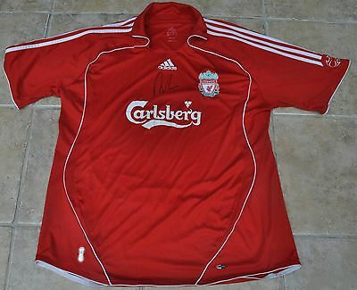Robbie Fowler Signed Liverpool Football Shirt