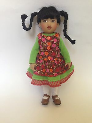 Outfit By Helen Kish For Doll Riley In Monet Garden Boneka Shoes And Socks