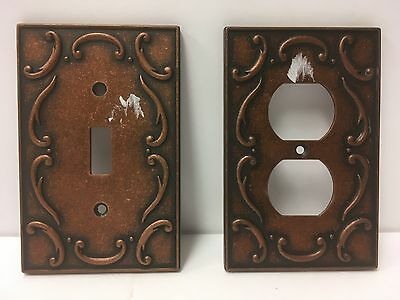 Cast Iron/brass Electrical Plug Outlet & Lighting Switch Plate Covers