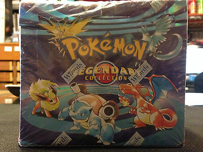Pokemon TCG - Legendary Collection Booster Box - FACTORY SEALED - VERY RARE!