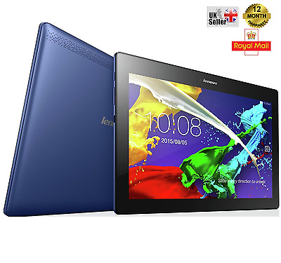 Lenovo Tab2 A10-30 10.1 Inch LED 1.3GHz 16GB 1GB Wi-Fi Android 5.1 Tablet - Blue