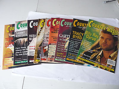 9 Country Music People Magazines 1997