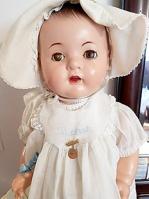 "Anitque Madame Alexander Composition Doll Dionne Quintuplet LARGE 24"" Marie 30s"