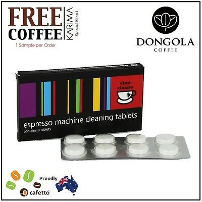 BREVILLE BEC250 Espresso Coffee Machine Cleaning Tablets Cleaner Clean + KARIMA