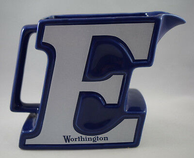 Vintage Worthington E Advertising Water / Beer Jug in excellent condition