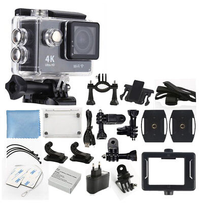 4K Ultra HD DV 12MP 1080p 60fps Sports Action Camera + Great Value Accessory Kit