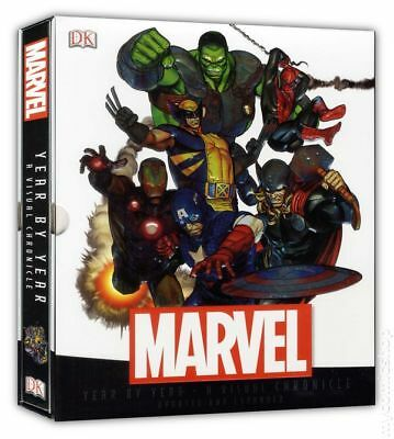 Year by Year A Visual Chronicle HC Updated and Expanded (2013) Marvel Comics