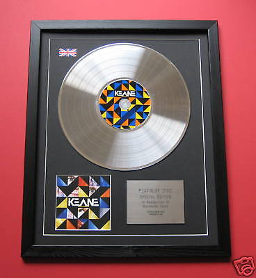 KEANE Perfect Symmetry CD / PLATINUM LP DISC Presentation