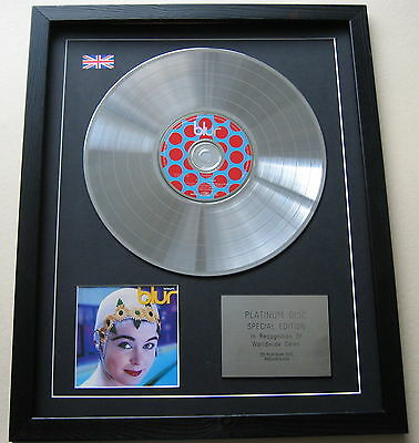 BLUR Leisure CD / PLATINUM LP DISC Presentation