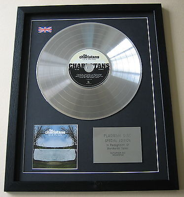 THE CHARLATANS Up At The Lake CD / PLATINUM LP DISC Presentation