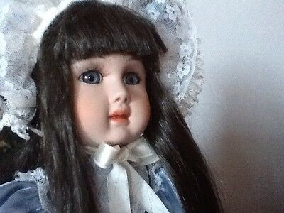 Alberon Porcelain Doll. Yvonne. Sculptured By Christopher Paul.